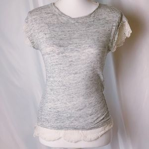Zara short sleeve blouse size small